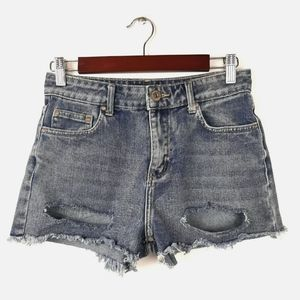 Made For Restless Generation Distressed Jean Short